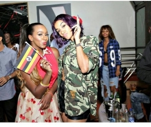 DJ Cuppy Pictured With Nyanda Of Brick & Lace [See Photos]